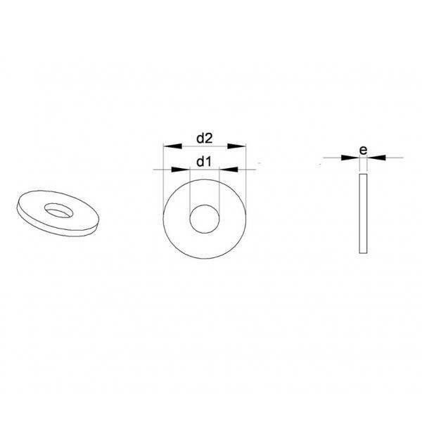 m16 standard unterlegscheibe f r schraube m16 din125 din125 standard unterlegscheibe ajile. Black Bedroom Furniture Sets. Home Design Ideas