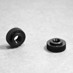 M5 Noir : Écrou plastique...