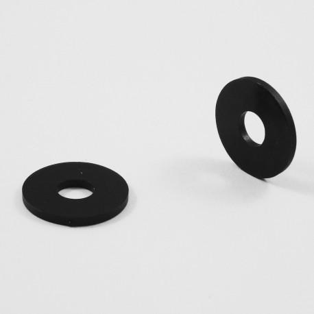 Pour Vis M10 Rondelle Plastique Large Pour Vis Diam M10 Noir