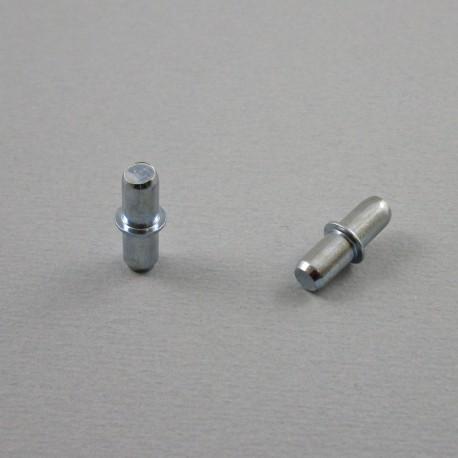 Tablarträger für Bohrloch-Durchmesser 5 mm - Verzinktem Stahl - Ajile