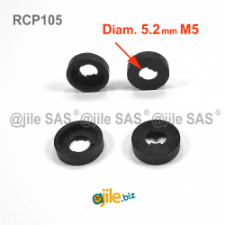 For M5 screw : plastic...