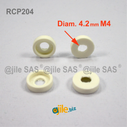 For M4 screw : plastic...