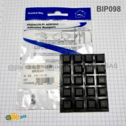 Black Square Adhesive...