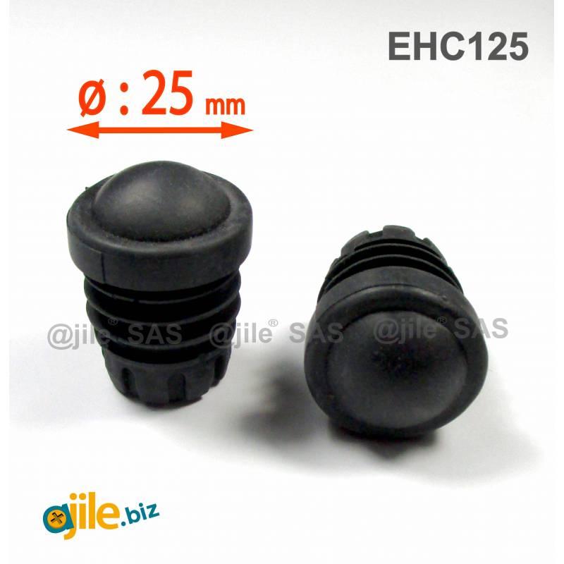 Verstärkte Runde Rutschfeste Gummi Fußkappe 25 mm Durchmesser für Gebrauch in Schulen und der Hotel, Café und Restaurant Bereich - Ajile