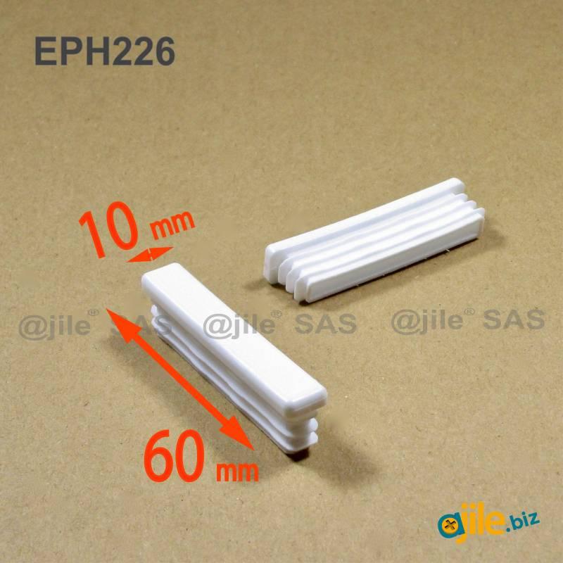 Rectangular Plastic Insert For 60x10 Mm