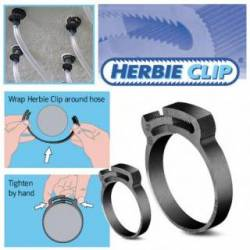 Plastic Snap Fit Hose Clamp for Cables, Pipes, Hoses and Tubes Diameter 9,2-10,3 mm - Ajile 5