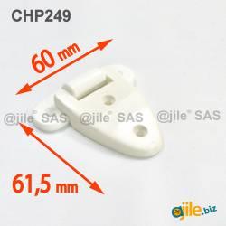 Plastic Screw-on Hinge 60 x...