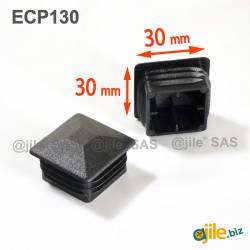 30 x 30 mm Plastic Black...