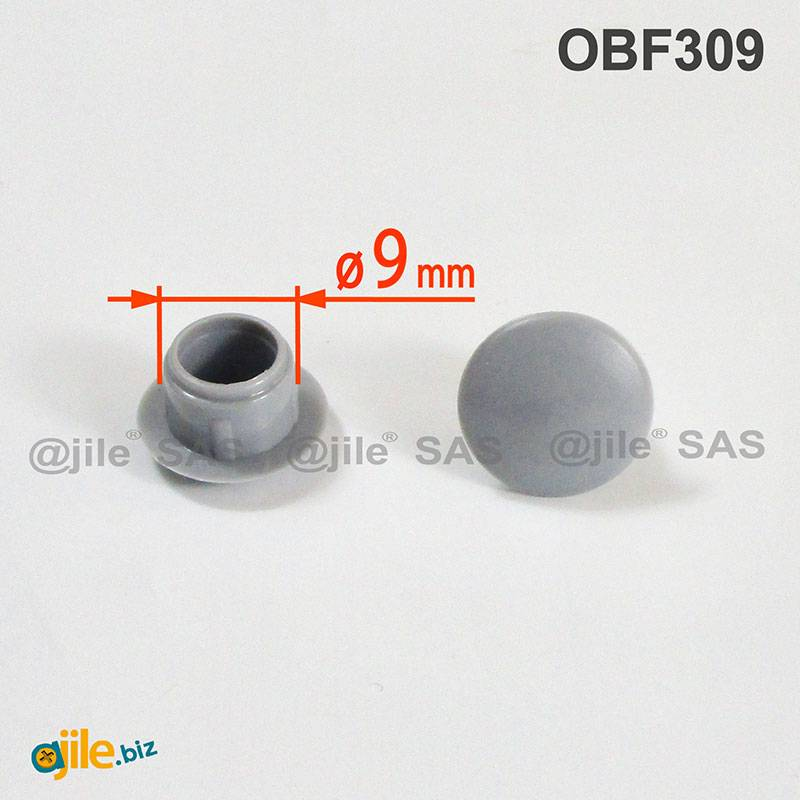 cf 40 pz tappi copriviti in plastica marrone Ø 12 mm tappo tappino coprivite