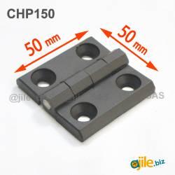 Plastic hinge 50 x 50 x 6...