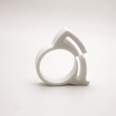 Presse tube - diam 20,5 à 23 mm - BLANC - Ajile