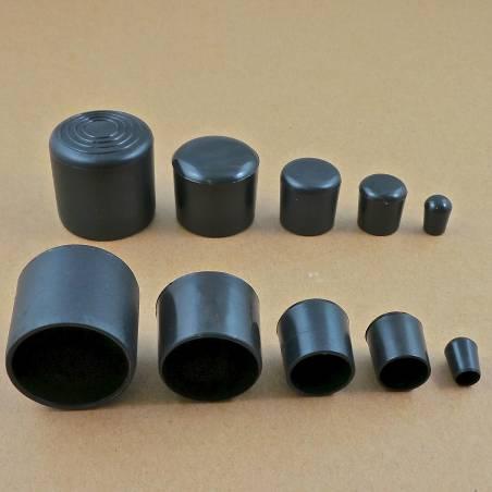 Round Plastic Black