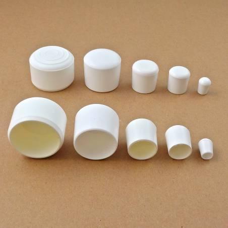 Round Plastic White