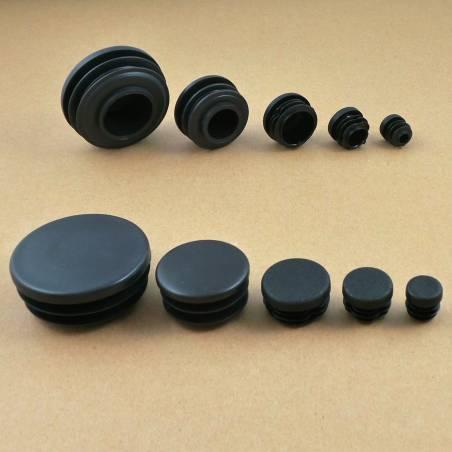Round Insert Black
