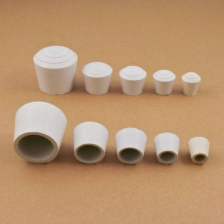 Round Rubber White
